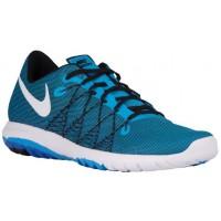 Nike Flex Fury 2 Blau Glühen/Schwarz/Rennfahrer Blau/Weiß Herren Sports