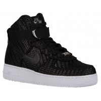 Nike Air Force 1 High Lv8 Woven Herren Sneakers Schwarz/Weiß
