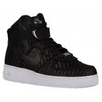 Nike Air Force 1 High Lv8 Woven Herren Sneakers Schwarz/Weiß