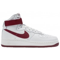 Herren Nike Air Force 1 High Retro Summit Rot/Team Rot Sneaker