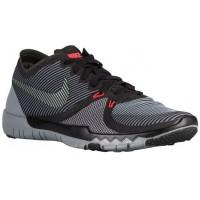 Nike Free Trainer 3.0 V4 Schwarz/Cool Grau Herren Fußballschuhe