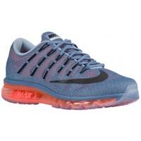 Nike Air Max 2016 Ozean Fog/Hell Crimson/Blau Grau/Schwarz Herren Schuhschaft