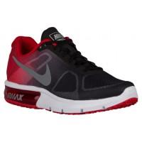 Nike Air Max Sequent Herren Laufschuhe Schwarz/University Rot/Cool Grau/Metallic Cool Grau