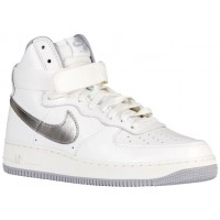 Nike Air Force 1 High Retro Herren Sneakers Summit Weiß/Wolf Grau