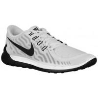 Herren Nike Free 5.0 2015 Weiß/Schwarz Sneaker