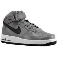 Nike Air Force 1 Mid Herren Sneaker Cool Grau/Schwarz/Weiß