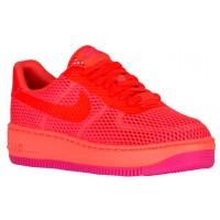 Damen Nike Air Force 1 Low Upstep Br Insgesamt Crimson Basketball