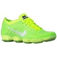 Nike Flyknit Zoom Agility Volt/Elektrisch Grün/Dampf Grün/Weiß Damen Trainingsschuhe