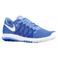 Nike Flex Fury 2 Kreide Blau/Weiß/Eintracht/Rennfahrer Blau Damen Sportschuhe