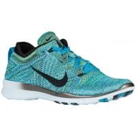 Nike Free Tr 5 Flyknit Blau Lagoon/Schwarz/Copa/Glacier Blau Damen Sneakersnstuff