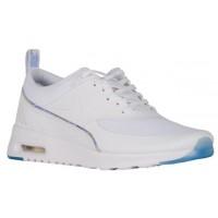 Damen Nike Air Max Thea Premium Weiß/Blau Tönung Sneakers