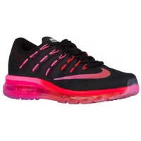 Nike Air Max 2016 Schwarz/Noble Rot/Hell Crimson/Mehrfarbig Damen Running Schuhe