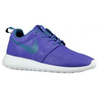 Nike Roshe One Print Perle Haze/Hyper Traube/Volt/Riftblau Damen Sneakers