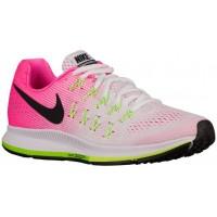 Nike Air Zoom Pegasus 33 Damen Schuhschaft Weiß/Rosa Blast/Elektrisch Grün/Schwarz