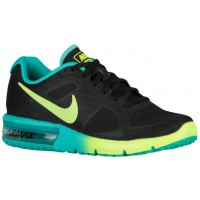 Damen Nike Air Max Sequent Schwarz/Deutlich Jade/Volt Sneakers