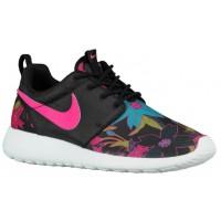 Nike Roshe One Print Premium Schwarz/Sail/Rosa Folie Damen Schuhschaft