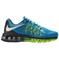 Nike Air Max 2015 World Cup Licht Blau Lackierung/Weiß/Volt/Anthrazit Damen Schuhschaft