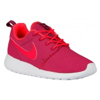 Nike Roshe One Damen Sportschuhe Dunkel Granat/Hell Crimson/Rein Platin