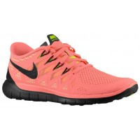 Nike Free 5.0 2014 Damen Laufschuhe Hell Mango/Volt/Pfirsich-Creme/Schwarz