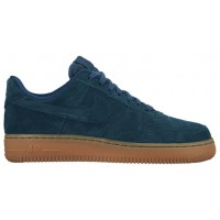 Nike Air Force 1 '07 Mid Suede Blau/Grün Damen Sneakers