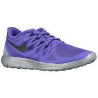 Damen Nike Free 5.0 2014 Flash Hyper Traube/Reflektierend Silber/Wolf Grau/Schwarz Sports