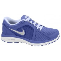Nike Dual Fusion Run Breathe Damen Running Schuhe Violett Force/Metallic Silber/Palest Perle