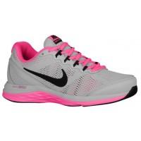 Nike Dual Fusion Run 3 Damen Laufschuhe Grau Mist/Rosa Pow/Schwarz