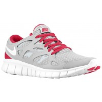Nike Free Run + 2 Damen Turnschuhe Tech Grau/Weiß/Cerise/Neutral Grau