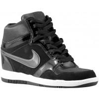 Nike Force Sky High Wedge Schwarz/Weiß/Anthrazit Damen Sneakers
