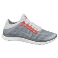 Nike Free 3.0 V5 Ext Cool Grau/Geranium/Weiß/Licht Base Grau Damen Running Schuhe