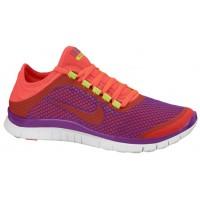 Nike Free 3.0 V5 Ext Hell Traube/Gift Grün/Weiß/Laser Crimson Damen Sportschuhe