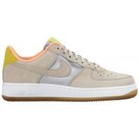 Nike Air Force 1 '07 Mid Premium Metallic Silber/String Damen Sneakers