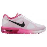 Nike Air Max Sequent Weiß/Rosa Blast/Schwarz Damenschuhe