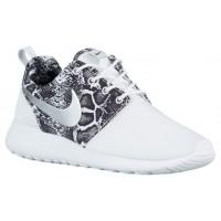 Nike Roshe One Print Weiß/Schwarz/Metallic Silber Damen Schuhschaft