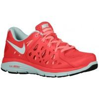Nike Dual Fusion Run 2 Damen Trainingsschuhe Fusion Rot/Atomar Rosa/Knickente Tönung/Summit Weiß