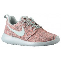 Nike Roshe One Print Rasen Orange/Dunkel Mica Grün/Volt/Sea Spray Damen Schuhschaft