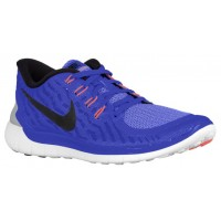 Nike Free 5.0 2015 Damen Sneaker Rennfahrer Blau/Kreide Blau/Weiß/Schwarz