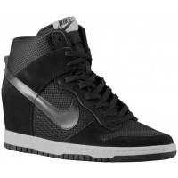 Damen Nike Dunk Sky Hi Essential/Wedge Schwarz/Sail Trainingsschuhe