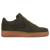 Nike Air Force 1 '07 Mid Suede Dunkel Loden Damen Athletic Shoes