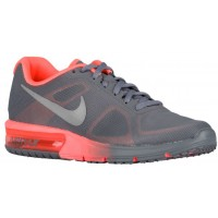 Damen Nike Air Max Sequent Cool Grau/Hell Mango/Metallic Silber Laufschuh