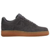 Nike Air Force 1 '07 Low Suede Damen Sneakers Grau