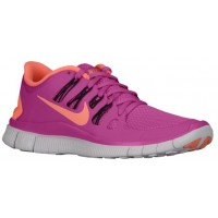 Nike Free 5.0+ Club Rosa/Anthrazit/Licht Violett/Atomar Rosa Damen Trainingsschuh