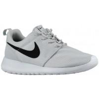 Nike Roshe One Rein Platin/Weiß/Schwarz Damen Schuhschaft
