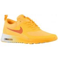 Nike Air Max Thea Atomar Mango/Metallic Silber/Weiß/Solar Orange Damen Running Schuhe