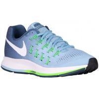 Nike Air Zoom Pegasus 33 Damen Runningschuh Blaucap/Ozean Fog/Rage Grün/Weiß