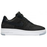 Nike Air Force 1 Low Flyknit Schwarz/Weiß Damen Basketball