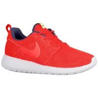 Damen Nike Roshe One Moire Hell Crimson/Hell Crimson/Weiß Turnschuhe