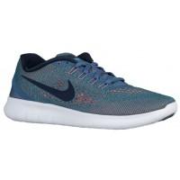 Nike Free Rn Ozean Fog/Türkis/Hell Mango/Midnacht Marine Damen Runningschuh