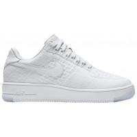 Nike Air Force 1 Low Flyknit Weiß Damen Sneakers