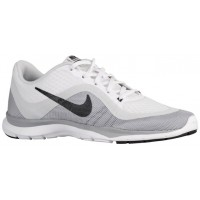 Nike Flex Trainer 6 Weiß/Anthrazit/Rein Platin Damen Trainingsschuhe